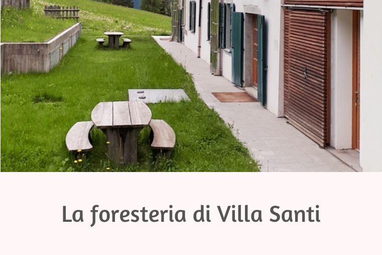 news villa santi foresteria